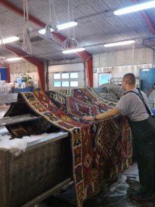 vask af ægte tæpper